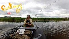 Встал на окуневую точку и понеслось, рыбалка на спиннинг в пасмурною погоду