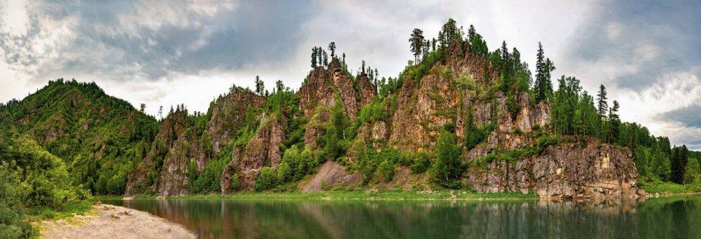 Панорама горы Медной