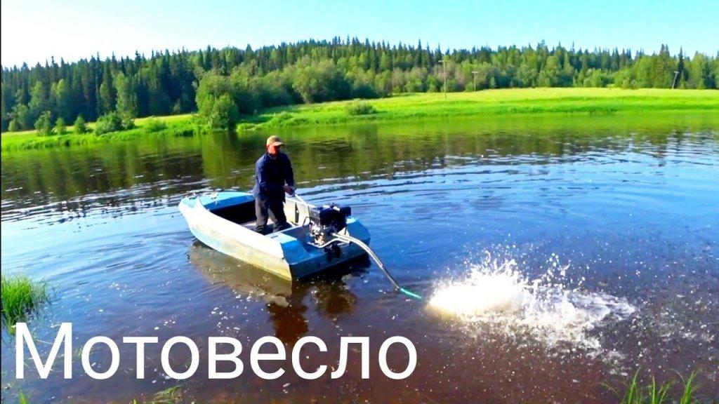 Испытания лодочного болотохода / мотовесло / 30 км в час на немане летим!