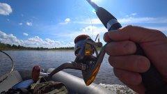Летняя рыбалка на реке Сысола