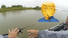 Утопил спиннинг. Не самая удачная рыбалка на джиг с лодки, судак совсем в игноре