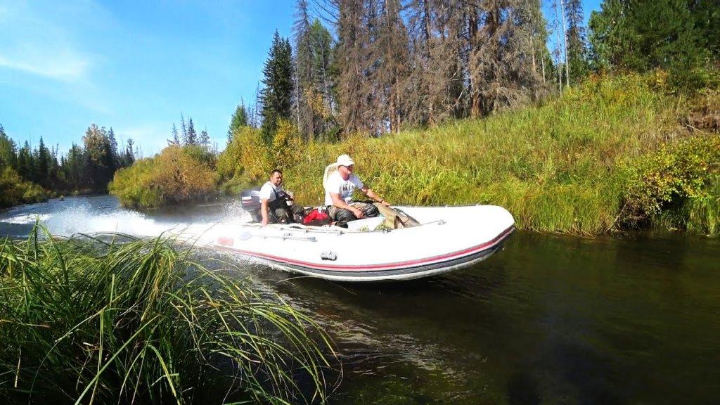 Рыбалка на угрюм-реке. Штурмуем перекаты в поисках тайменя