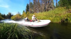 Рыбалка на угрюм-реке. Штурмуем перекаты в поисках тайменя!!!