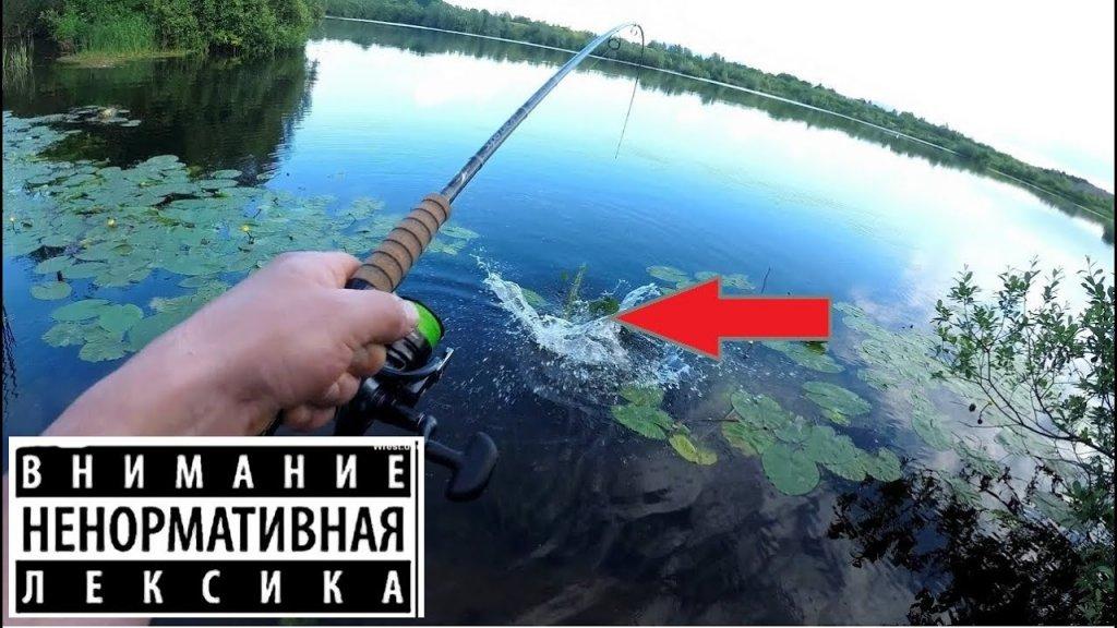 Прикололись над мужиком на рыбалке