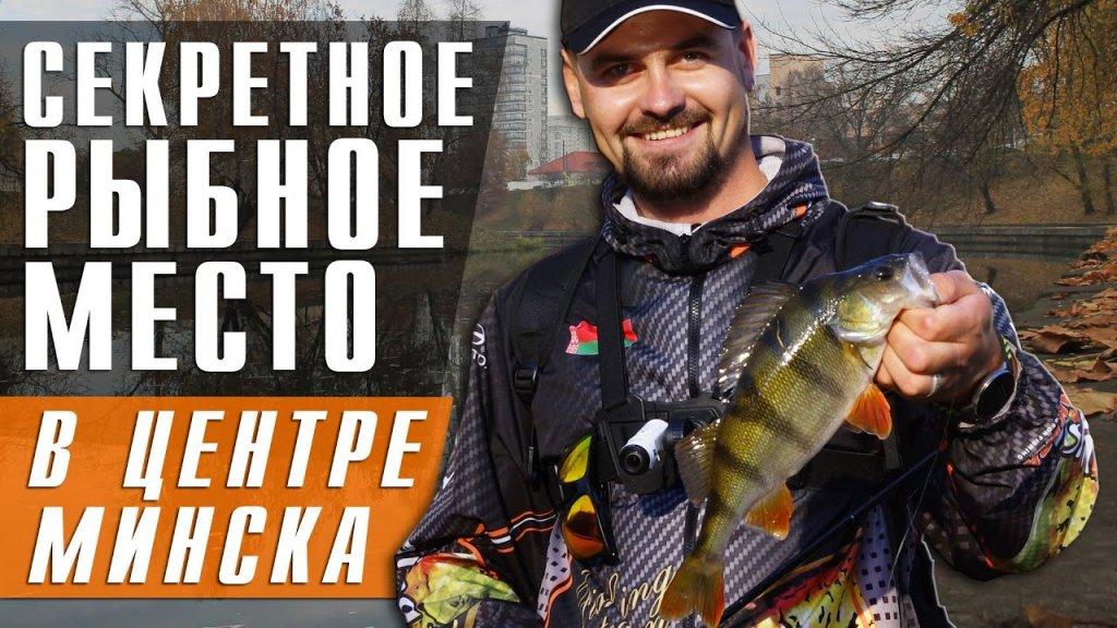СТРИТФИШИНГ, секретное рыбное место в центре города Минска