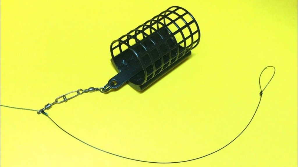Фидерная оснастка running feeder rig   фидерный монтаж на плетеном шнуре   фидер для начинающих