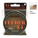 Плетёный шнур Akara Feeder X-4