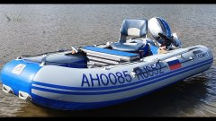 Установка кресла в лодку пвх  тест на воде Installation of a chair in a pvc boat