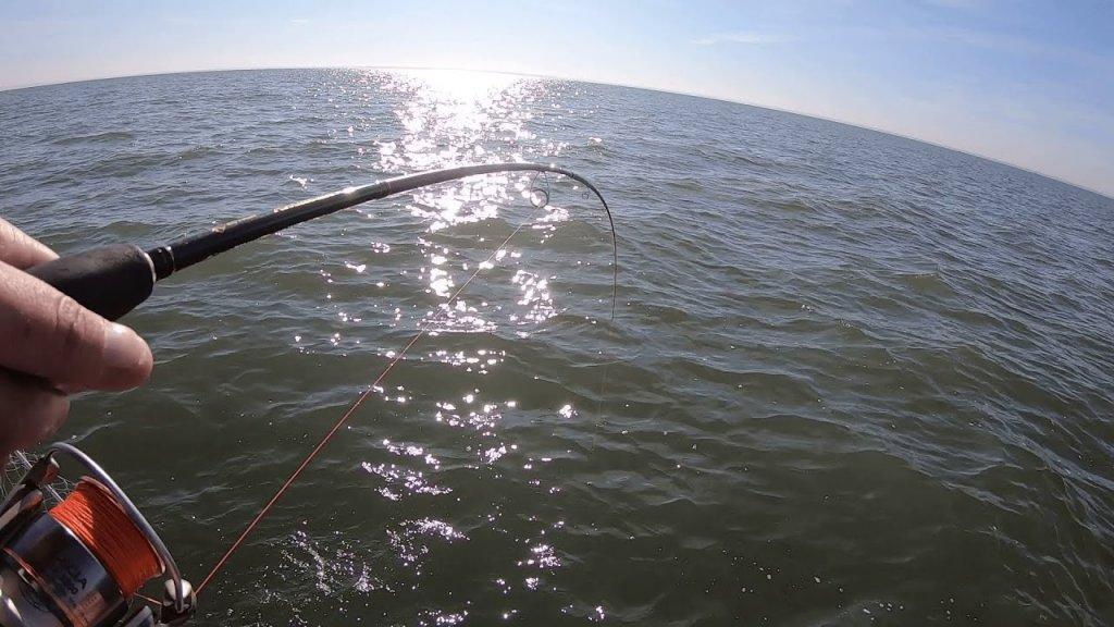 Рыбалка на судака с лодки в сентябре! Клюет на мандулу