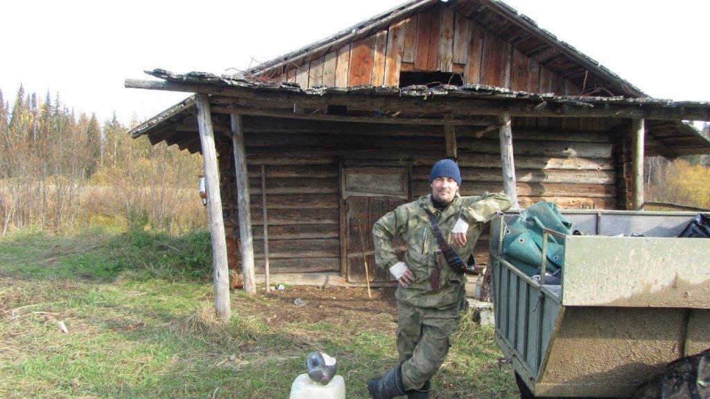 Жизнь в тайге /  ходовая охота /  добыл крохаля