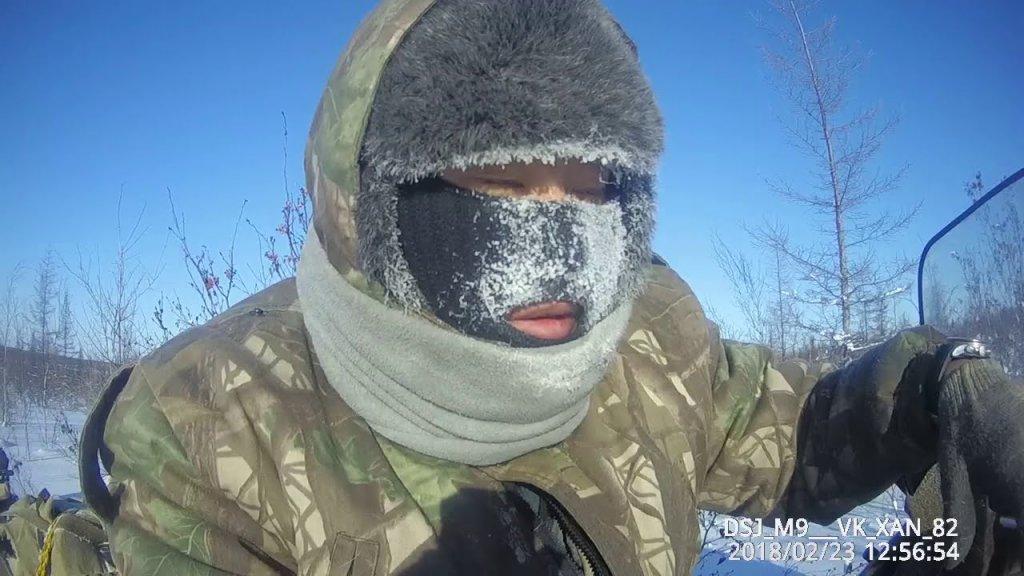 Рыбалка в минус - 50 градусов. Это Россия!
