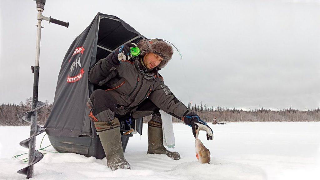 Санки-палатка для зимней рыбалки. Бюджетно и комфортно!