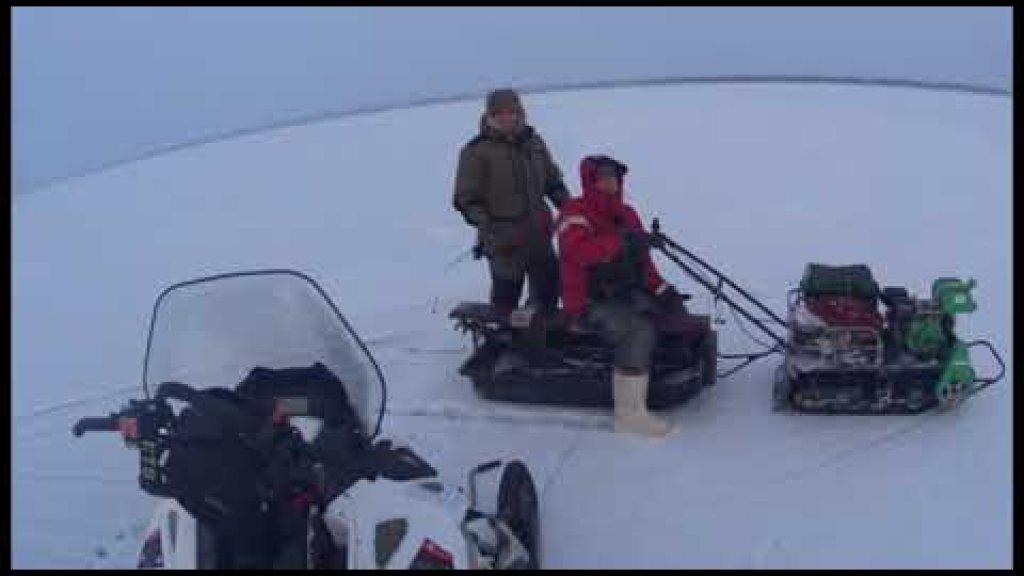 Рыбалка.Первый лёд на Снегоходе.Судак.Видео отчёт 02.12.2020