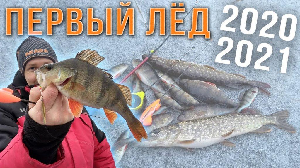 Зимняя рыбалка 2020 /2021 первый лёд / На что будет лучше клевать?