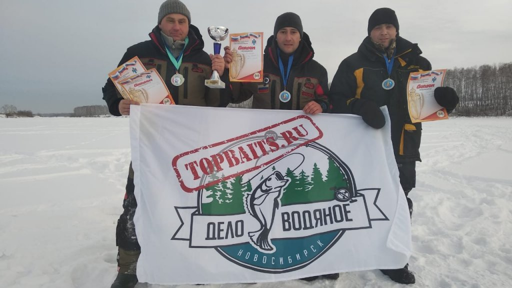 Отчет команды «topbaits» с турнира НСО по ловле на мормышку