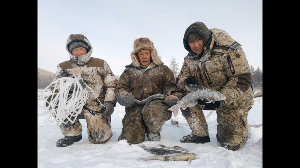 Эвенки показали - что такое трофейная рыбалка