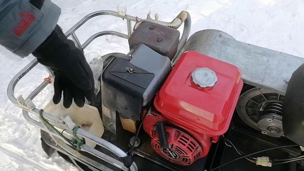Нужен ли мягкий чехол на двигатель мотобуксировщика?