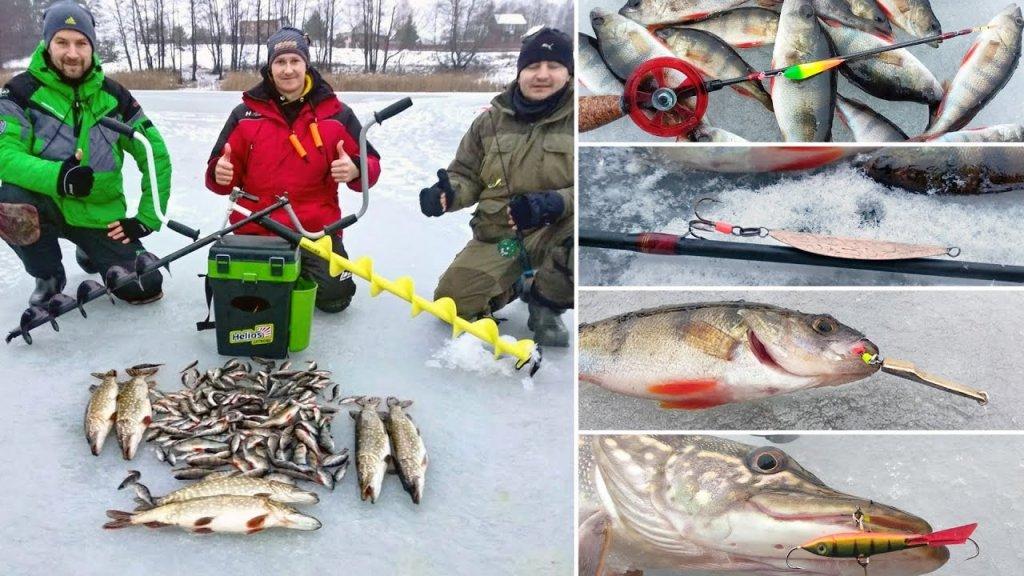 Зимняя рыбалка на блесну и балансир