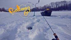 Зачетный окунь на балансир зимой, рыбалка 2021