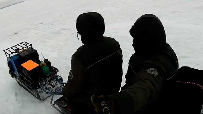 Сказ о том как два рыбака потерялись на ОВХ и вызывали спасателей на подмогу