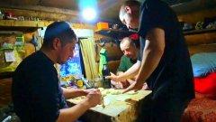 Тайга.морозы -40.живем в избе.рыбачим.таёжная кухня.отпуск в тайге