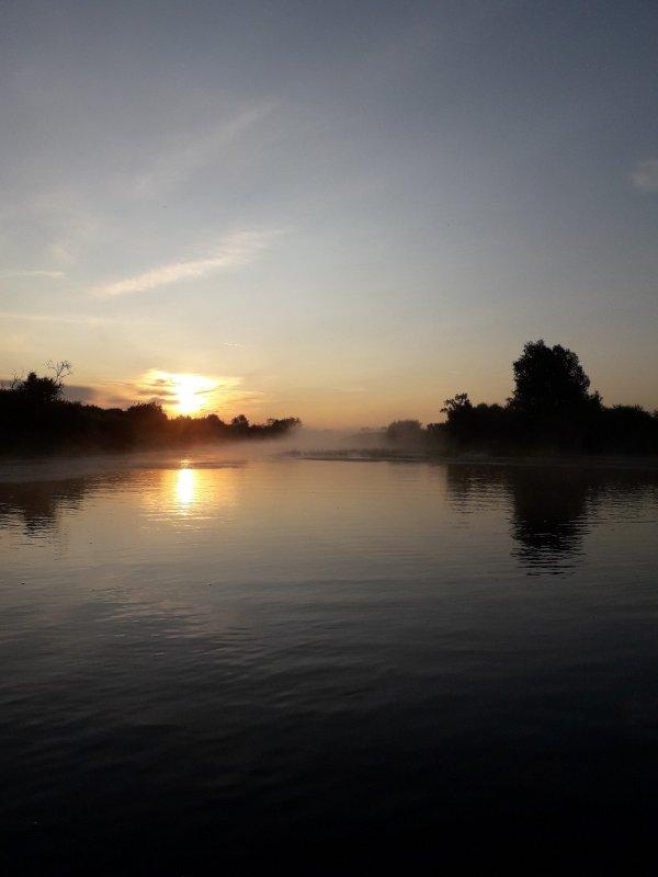 Рассвет на Кашламе.