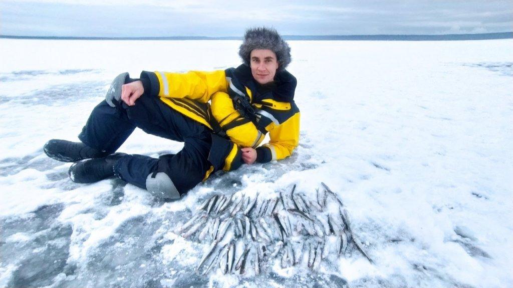 Корюшка на Финском заливе. Рыбалка в 2021 году