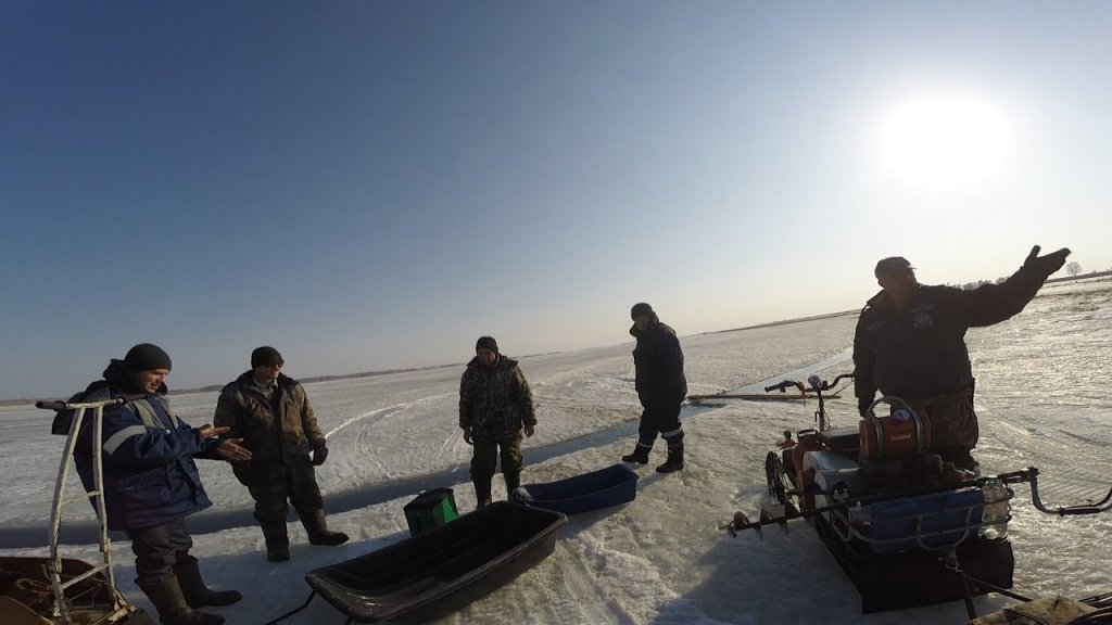 Выезд на рыбалку. о. Чаны. День Второй.