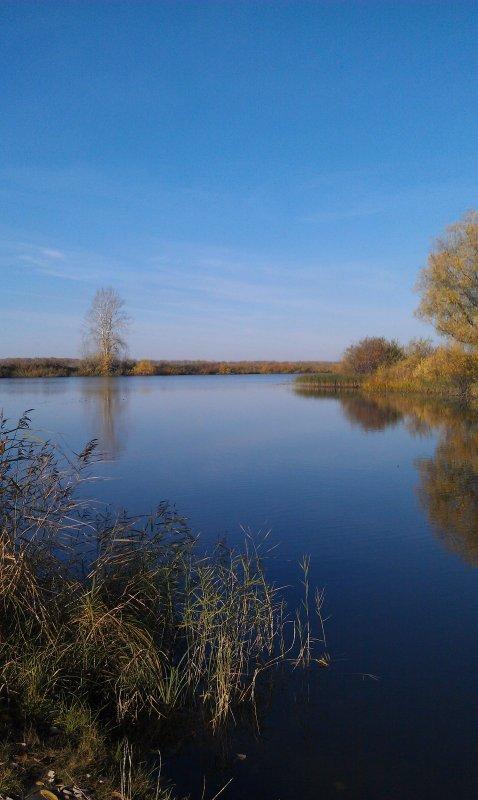 озеро Глухое, октябрь 2011 года