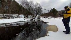 Рыбалка на маленькой речке.Открытие поплавочного сезона. Хариус