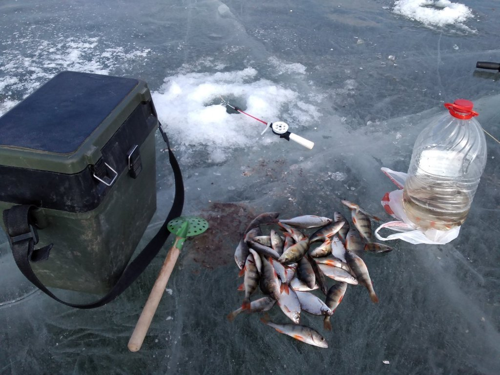 Рыбалка на мормышку