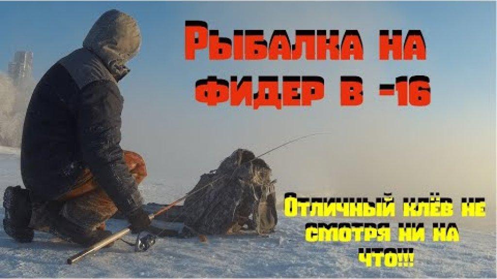Рыбалка на фидер. Ветер, мороз, обледенение шнура.... И отличный клёв не смотря ни на что!