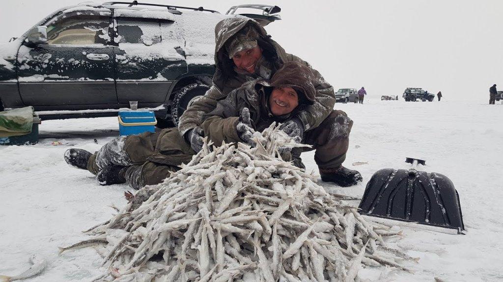 Лучшая зимняя рыбалка в Де-Кастри за 10 лет/Ловят все и очень много/