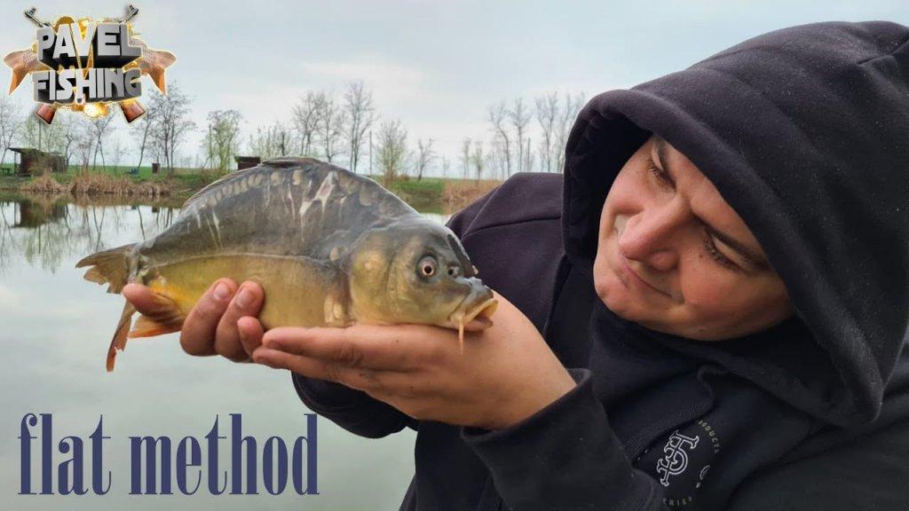 Ловля крапа на ФЛЭТ ФИДЕР Flat Method Feeder, РЫБАЛКА ВЕСНА 2021. Рыбалка ранней весной.
