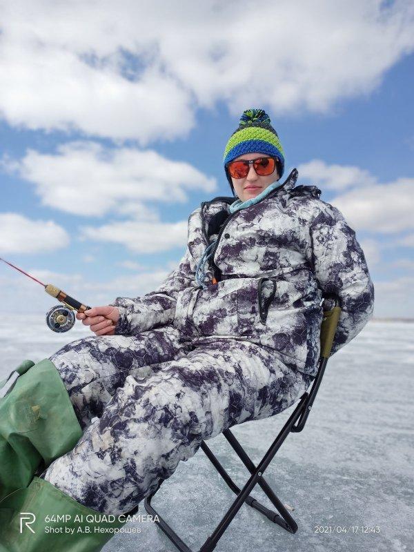 Закрыли лёд с женой