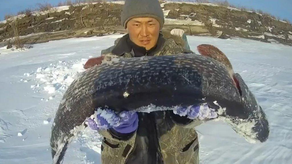 Как якуты рыбачат - способ Куюр