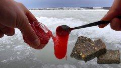 Реакция рыбы на Малиновое Варенье и Жмых Подсолнечника! Подводная съемка