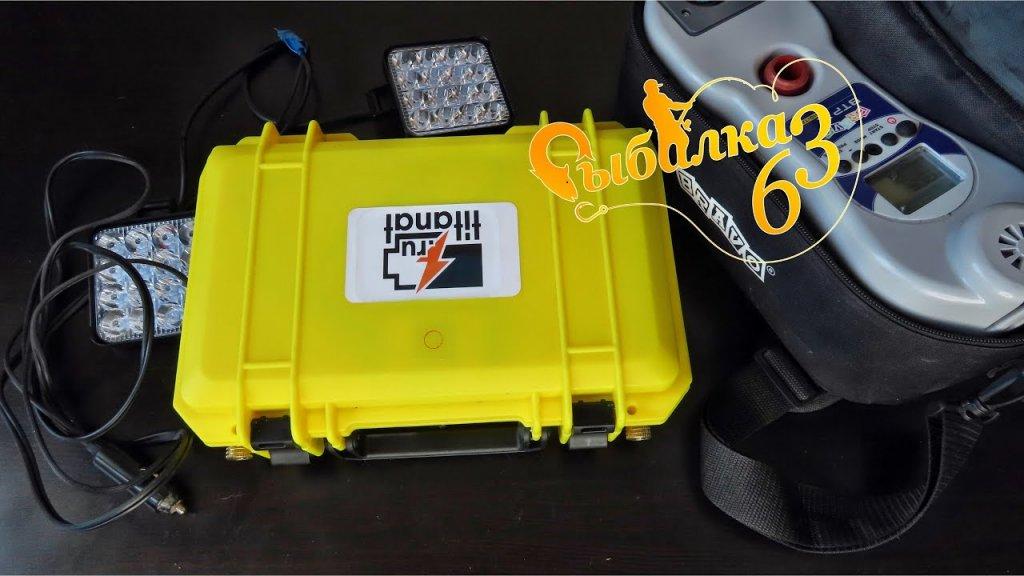 Выбор аккумулятора для эхолота, LiFePO4 аккумулятор от компании Titanat