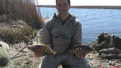 Ловля на фидер весной на реке