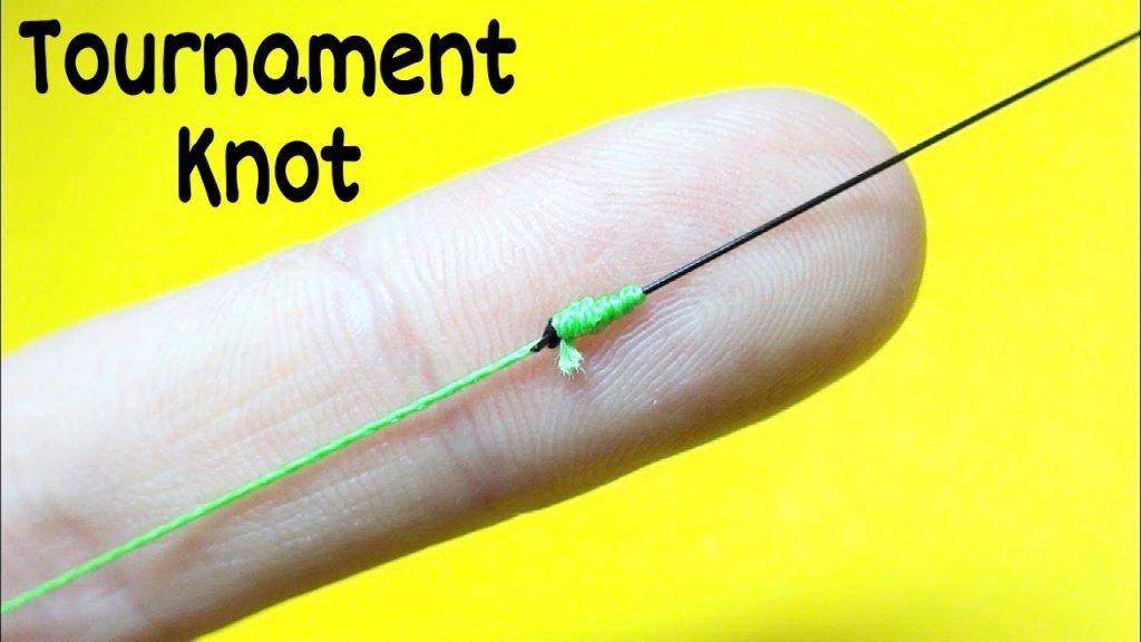 Соединительный узел tournament knot. Как связать леску между собой. Лайфхаки и самоделки для рыбалки