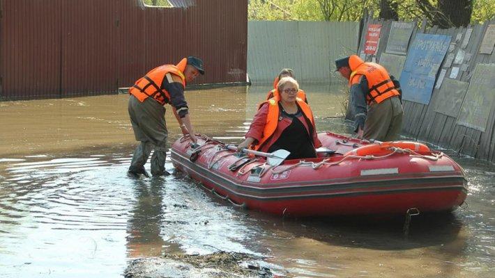 В апреле в Новосибирск придет мощный паводок
