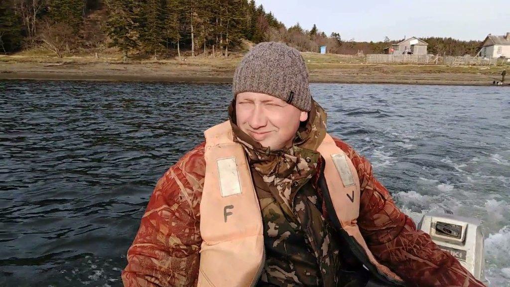 Рыбалка в хорошей компании перед открытием охоты.