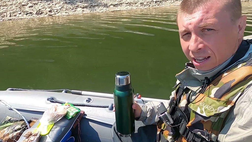 Рыбалка на водохранилище. Как начиналась рыбалка на квх в прошлом сезоне. Первая щука сезона в лодке
