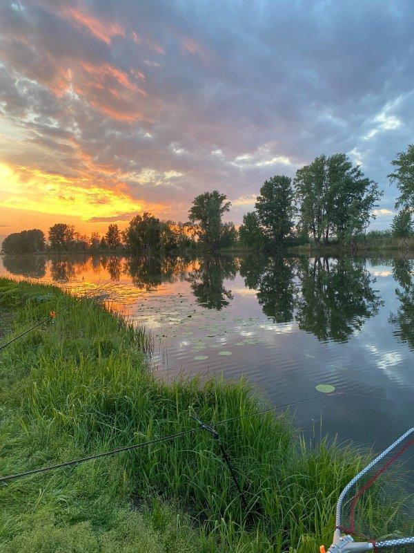 Озеро Глухое, Закат