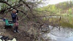 Рыбалка на реке Дон. Ловля на Фидер весной.