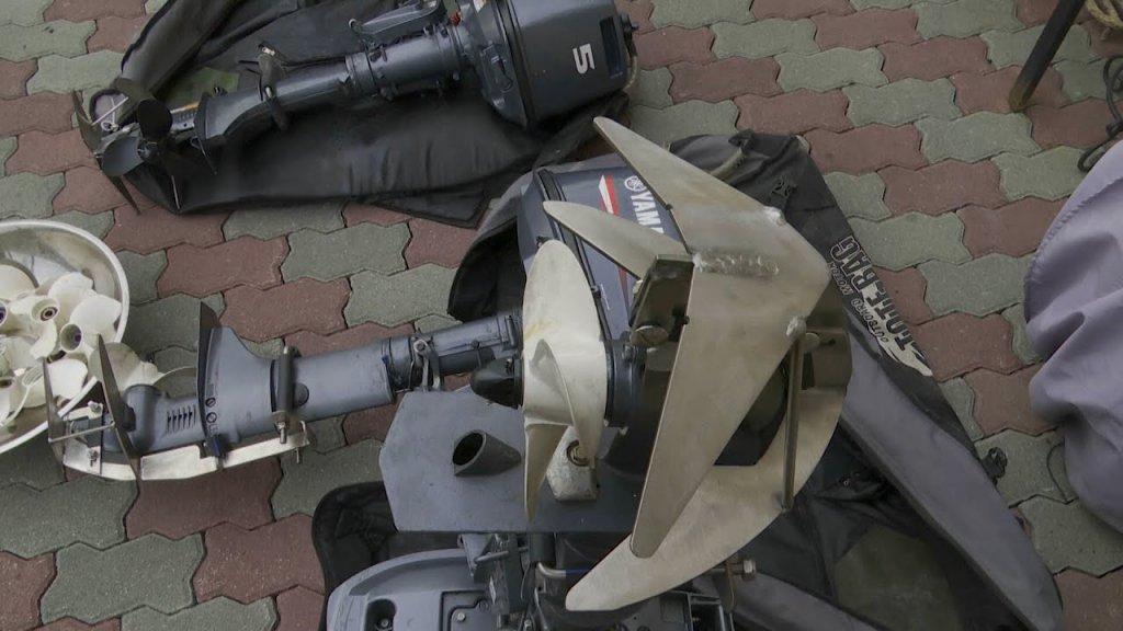 Защита гребного винта для подвесного мотора