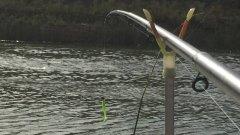 Рыбалка на озёрном коллекторе.