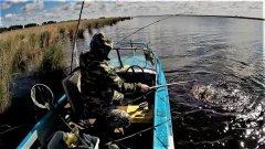 Рыбалка оз. Чаны. Хороший улов в первый выход. Разведка удалась. Окунь Судак Щука Видео 2021
