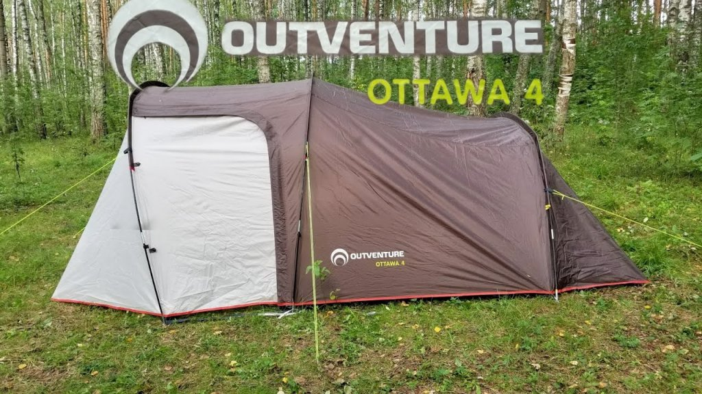 Обзор ПАЛАТКИ Outventure Ottawa 4