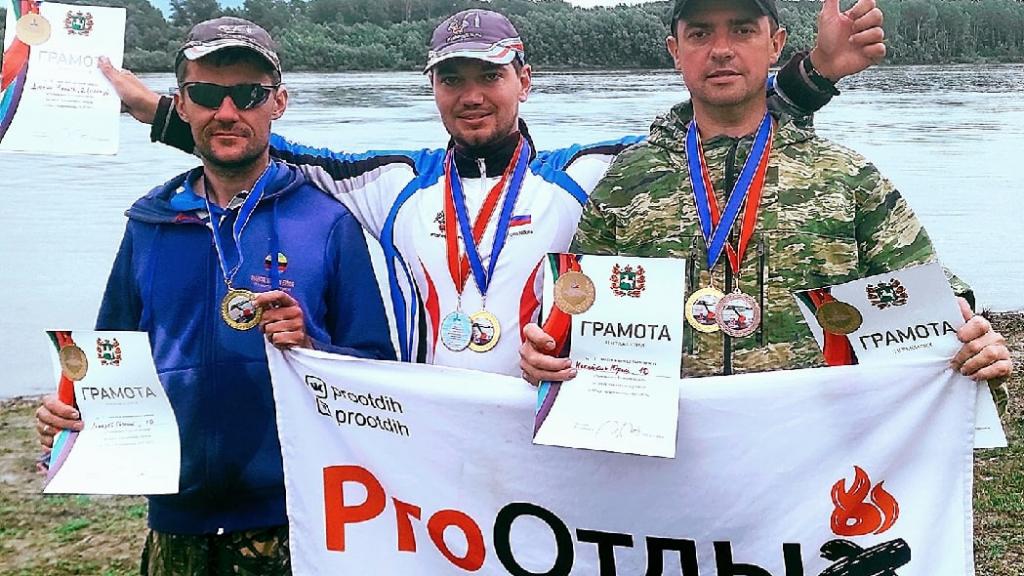 Команда FishingSib.ru - Чемпион Томской области по поплавку!